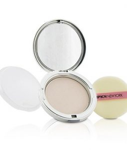 IPKN NEW YORK MOIST PERFUME POWDER PACT - #01 (SHINY PINK) (UNBOXED) 14.5G/0.51OZ