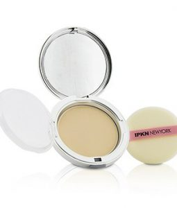 IPKN NEW YORK MOIST PERFUME POWDER PACT - #21 (NUDE BEIGE) (UNBOXED) 14.5G/0.51OZ