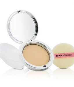 IPKN NEW YORK MOIST PERFUME POWDER PACT - #23 (NATURAL BEIGE) (UNBOXED) 14.5G/0.51OZ