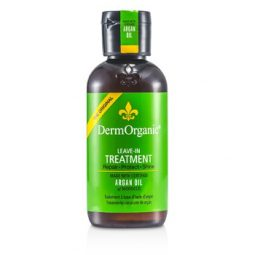 DERMORGANIC ARGAN OIL LEAVE-IN TREATMENT 120ML/4OZ