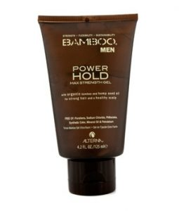 ALTERNA BAMBOO MEN POWER HOLD MAX STRENGTH GEL (FOR STRONG HAIR AND HEALTHY SCALP) 125ML/4.2OZ