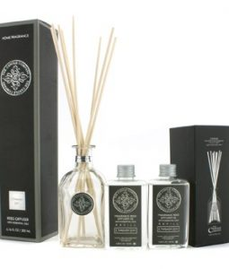 THE CANDLE COMPANY REED DIFFUSER WITH ESSENTIAL OILS - CHAMPAGNE ROSE 200ML/6.76OZ