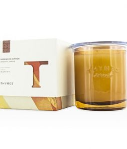 THYMES AROMATIC CANDLE - ROSEWOOD CITRON 284G/10OZ