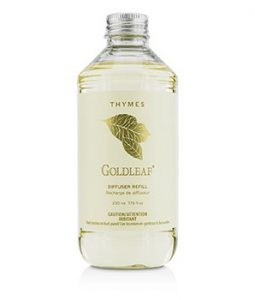 THYMES REED DIFFUSER REFILL - GOLDLEAF 230ML/7.75OZ
