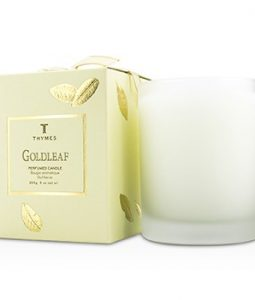 THYMES PERFUMED CANDLE - GOLDLEAF 255G/9OZ