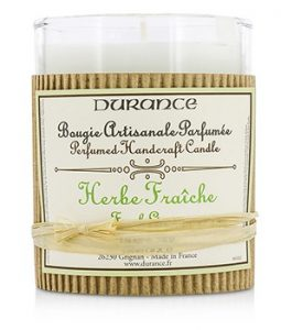 DURANCE PERFUMED HANDCRAFT CANDLE - FRESH GRASS 180G/6.34OZ