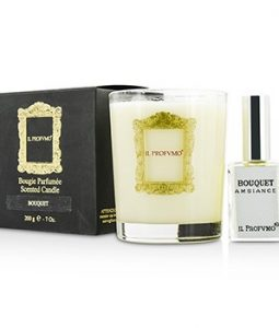 IL PROFVMO SCENTED CANDLE - BOUQUET (WITH ROOM FRANGRANCE SPRAY 15ML/0.5OZ) 200G/7OZ