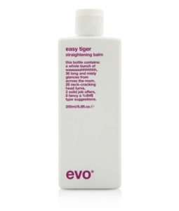 EVO EASY TIGER STRAIGHTENING BALM (FOR ALL HAIR TYPES, ESPECIALLY THICK COARSE HAIR) 200ML/6.8OZ