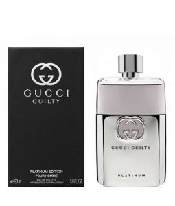 GUCCI GUILTY PLATINUM EDITION POUR HOMME EDT FOR MEN
