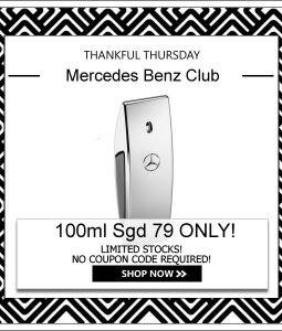 MERCEDES BENZ CLUB EDT FOR MEN 100ML [THANKFUL THURSDAY SPECIAL]