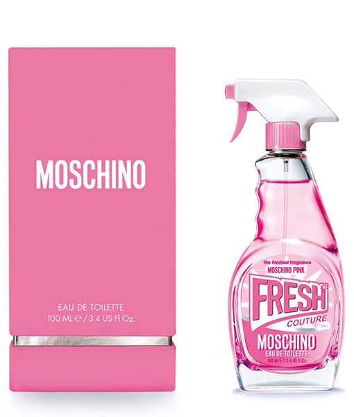 MOSCHINO PINK FRESH COUTURE EDT FOR WOMEN