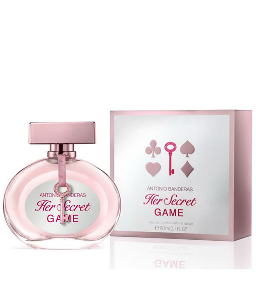 ANTONIO BANDERAS HER SECRET GAME EDT FOR WOMEN