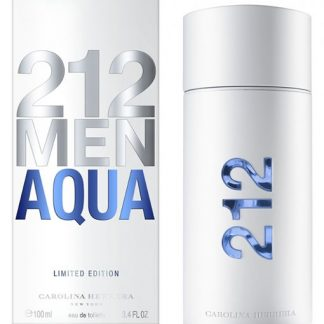 CAROLINA HERRERA 212 AQUA LIMITED EDITION EDT FOR MEN