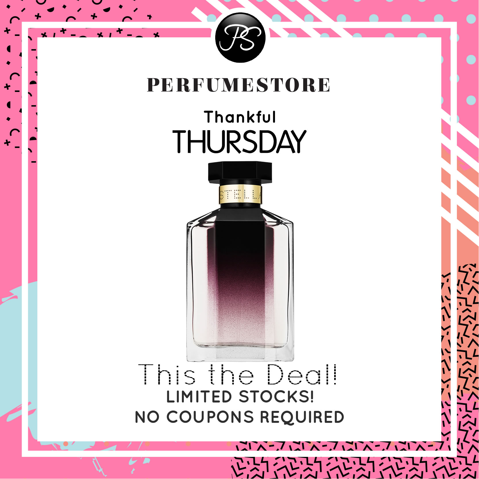 STELLA MCCARTNEY STELLA EDP FOR WOMEN 30ML [THANKFUL THURSDAY SPECIAL]
