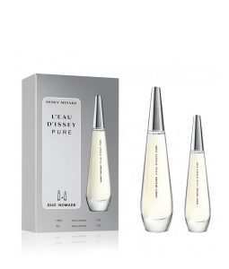 ISSEY MIYAKE L'EAU D'ISSEY PURE DUO NOMADE GIFT SET FOR WOMEN