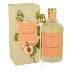 MAURER & WIRTZ 4711 ACQUA COLONIA WHITE PEACH & CORIANDER EDC FOR UNISEX