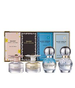 MARC JACOBS DAISY AND DAISY DREAM MINIATURE GIFT SET FOR WOMEN