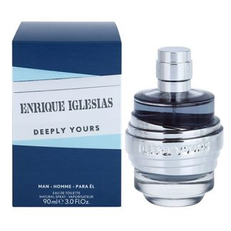 ENRIQUE IGLESIAS DEEPLY YOURS EDT FOR MEN