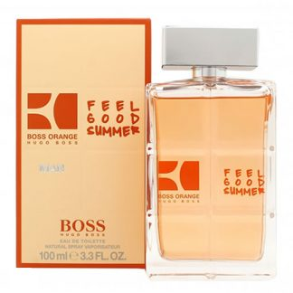 HUGO BOSS ORANGE FEEL GOOD SUMMER EDT FOR MEN