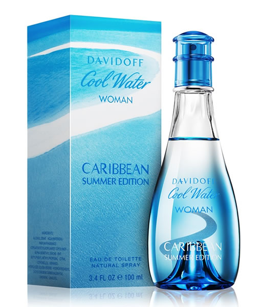 DAVIDOFF COOL WATER CARIBBEAN SUMMER EDITION EDT FOR WOMEN