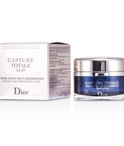 CHRISTIAN DIOR CAPTURE TOTALE NUIT INTENSIVE NIGHT RESTORATIVE CREME  (RECHARGEABLE) 60ML 2.1OZ b15ecbcdb5a