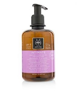 APIVITA INTIMATE GENTLE CLEANSING GEL FOR THE INTIMATE AREA FOR DAILY USE WITH CHAMOMILE & PROPOLIS 300ML/10.14OZ