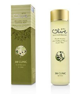 3W CLINIC OLIVE NATURAL SKIN 150ML/5OZ