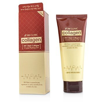 3W CLINIC COLLAGEN CRYSTAL PEELING GEL 180ML/6OZ