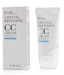 3W CLINIC CRYSTAL WHITENING CC CREAM SPF 50+/PA+++ - #02 NATURAL BEIGE 50ML/1.69OZ