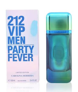 CAROLINA HERRERA 212 VIP PARTY FEVER LIMITED EDITION EDT FOR MEN