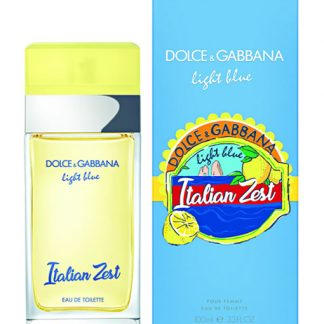 DOLCE & GABBANA D&G LIGHT BLUE ITALIAN ZEST POUR FEMME EDT FOR WOMEN