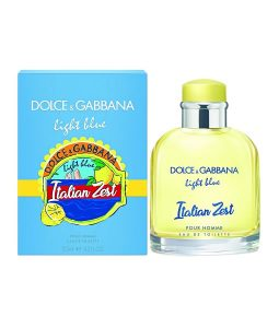DOLCE & GABBANA D&G LIGHT BLUE ITALIAN ZEST POUR HOMME EDT FOR MEN