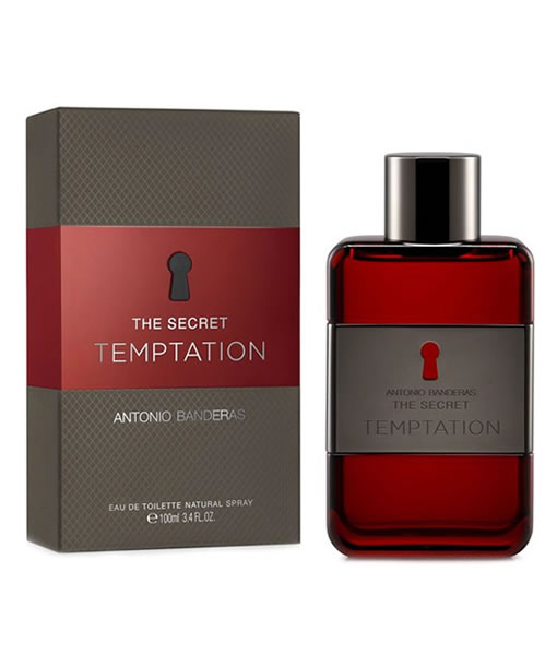 ANTONIO BANDERAS THE SECRET TEMPTATION EDT FOR MEN