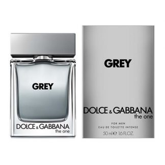 DOLCE & GABBANA D&G THE ONE GREY INTENSE EDT FOR MEN