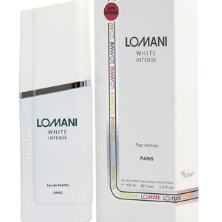 LOMANI WHITE INTENSE EDT FOR MEN