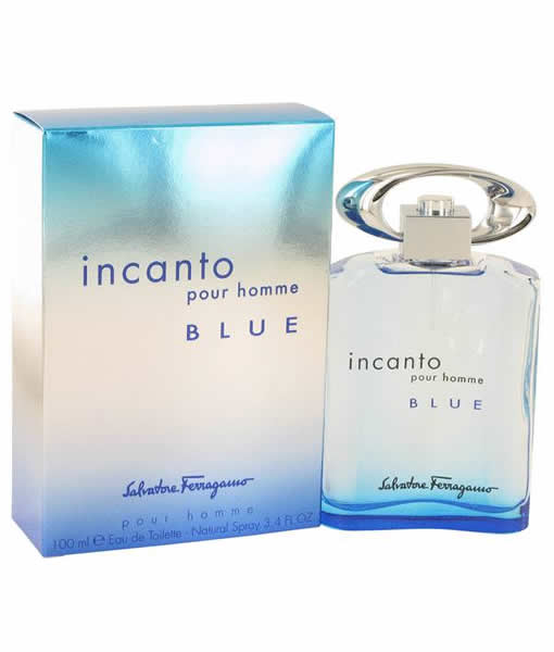[SNIFFIT] SALVATORE FERRAGAMO INCANTO BLUE POUR HOMME EDT FOR MEN