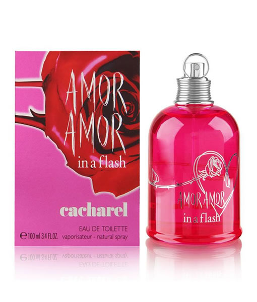 CACHAREL AMOR AMOR IN A FLASH EDT FOR WOMEN