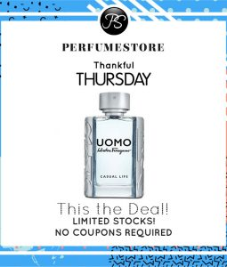 SALVATORE FERRAGAMO UOMO CASUAL LIFE EDT FOR MEN 100ML [THANKFUL THURSDAY SPECIAL]