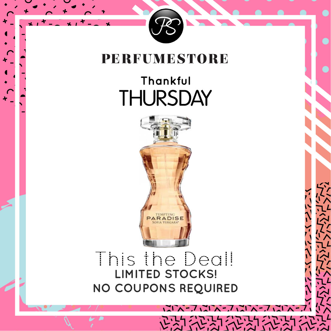 SOFIA VERGARA TEMPTING PARADISE EDP FOR WOMEN 100ML TESTER [THANKFUL THURSDAY SPECIAL]