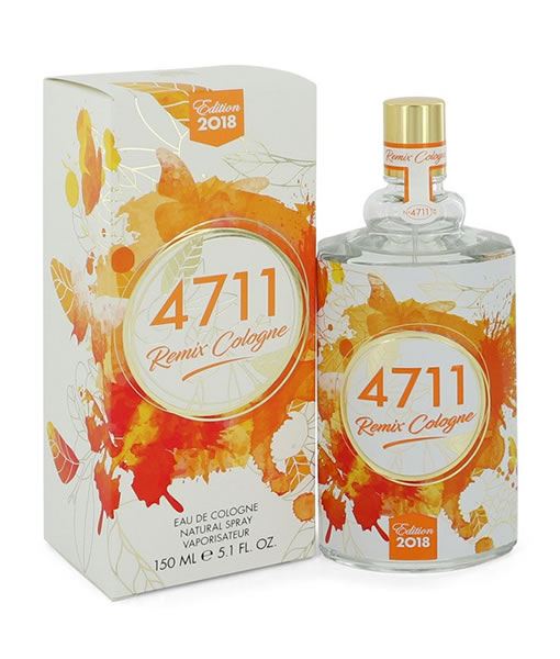 MAURER & WIRTZ 4711 REMIX COLOGNE EDC FOR UNISEX
