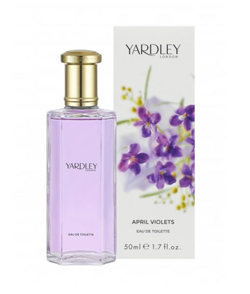 YARDLEY LONDON APRIL VIOLETS EDT FOR WOMEN