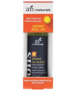 ARTNATURALS, AWAKE ROLL-ON, .33 FL OZ / 10ml