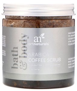 ARTNATURALS, ARABICA COFFEE SCRUB, 20 OZ / 567g