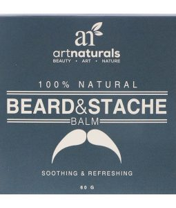 ARTNATURALS, 100% NATURAL, BEARD & STACHE BALM, 60 G