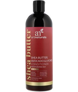 ARTNATURALS, SHEA BUTTER, AVOCADO & LYCHEE CONDITIONER, MOISTURIZING SILK, FOR DRY HAIR, 16 FL OZ / 473ml