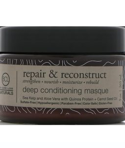 BCL, BE CARE LOVE, NATURALS, REPAIR & RECONSTRUCT, DEEP CONDITIONING MASQUE, 9 OZ / 265ml
