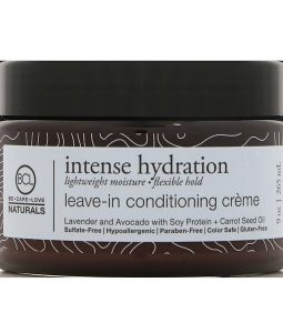 BCL, BE CARE LOVE, NATURALS, INTENSE HYDRATION, LEAVE-IN CONDITIONING CREAM, 9 OZ / 265ml