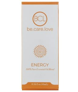 BCL, BE CARE LOVE, 100% PURE ESSENTIAL OIL BLEND, ENERGY, 0.34 FL OZ / 10ml