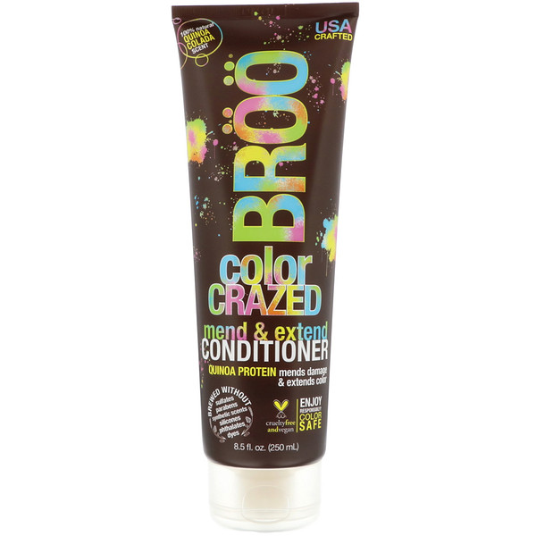 BR??, COLOR CRAZED CONDITIONER, QUINOA COLADA, 8.5 FL OZ / 250ml