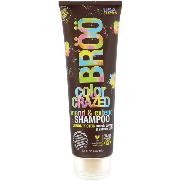BR??, COLOR CRAZED SHAMPOO, QUINOA COLADA, 8.5 FL OZ / 250ml